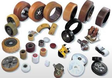 Восстановление полиуретанового покрытия роликов ведущих и направляющих колес штабелеров, ричтраков, бандажных шин с полиуретановым покрытием, ремонт роликов транспортеров, транспортных систем